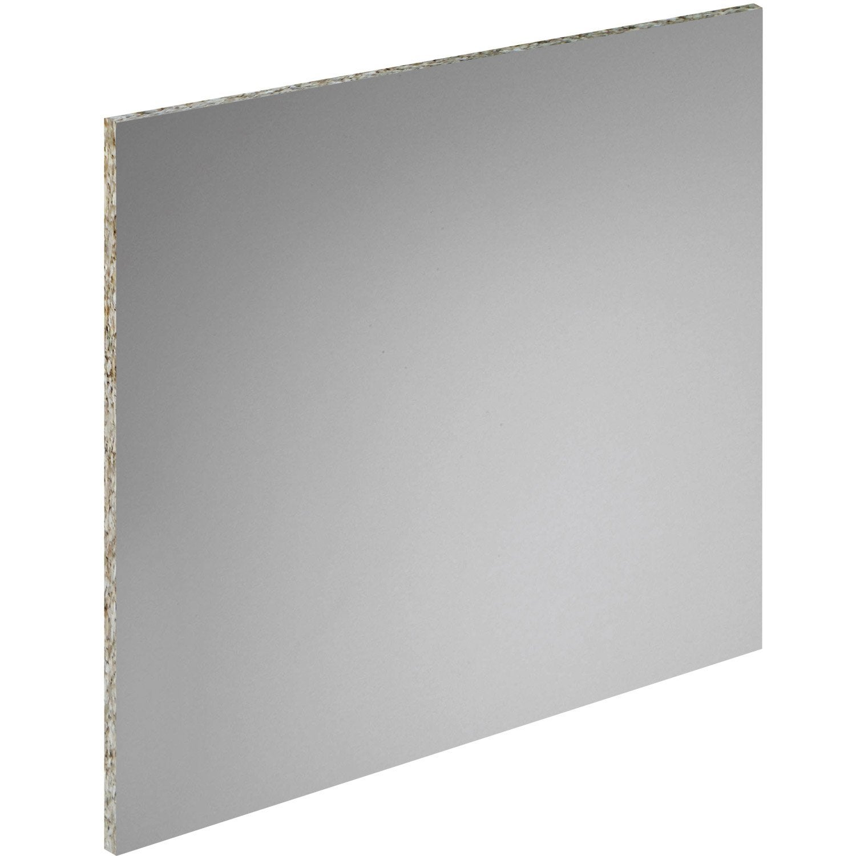 Cr dence acrylique gris titan x cm ep 6 mm - Credence autocollante leroy merlin ...