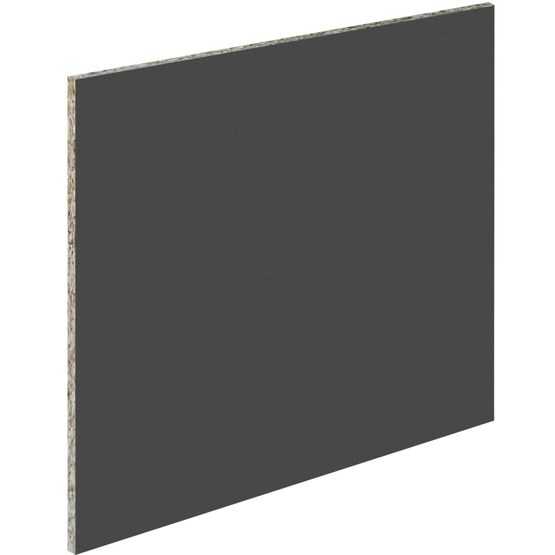 Cr dence acrylique acier x cm ep 6 mm leroy - Leroy merlin credence murale ...