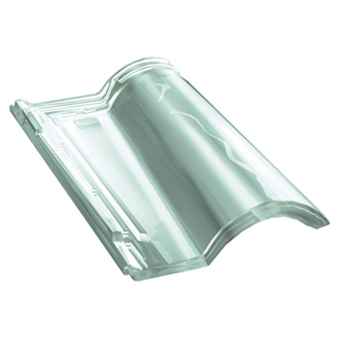 Tuile d 39 clairement gr13 monier translucide leroy merlin - Tuile en verre leroy merlin ...
