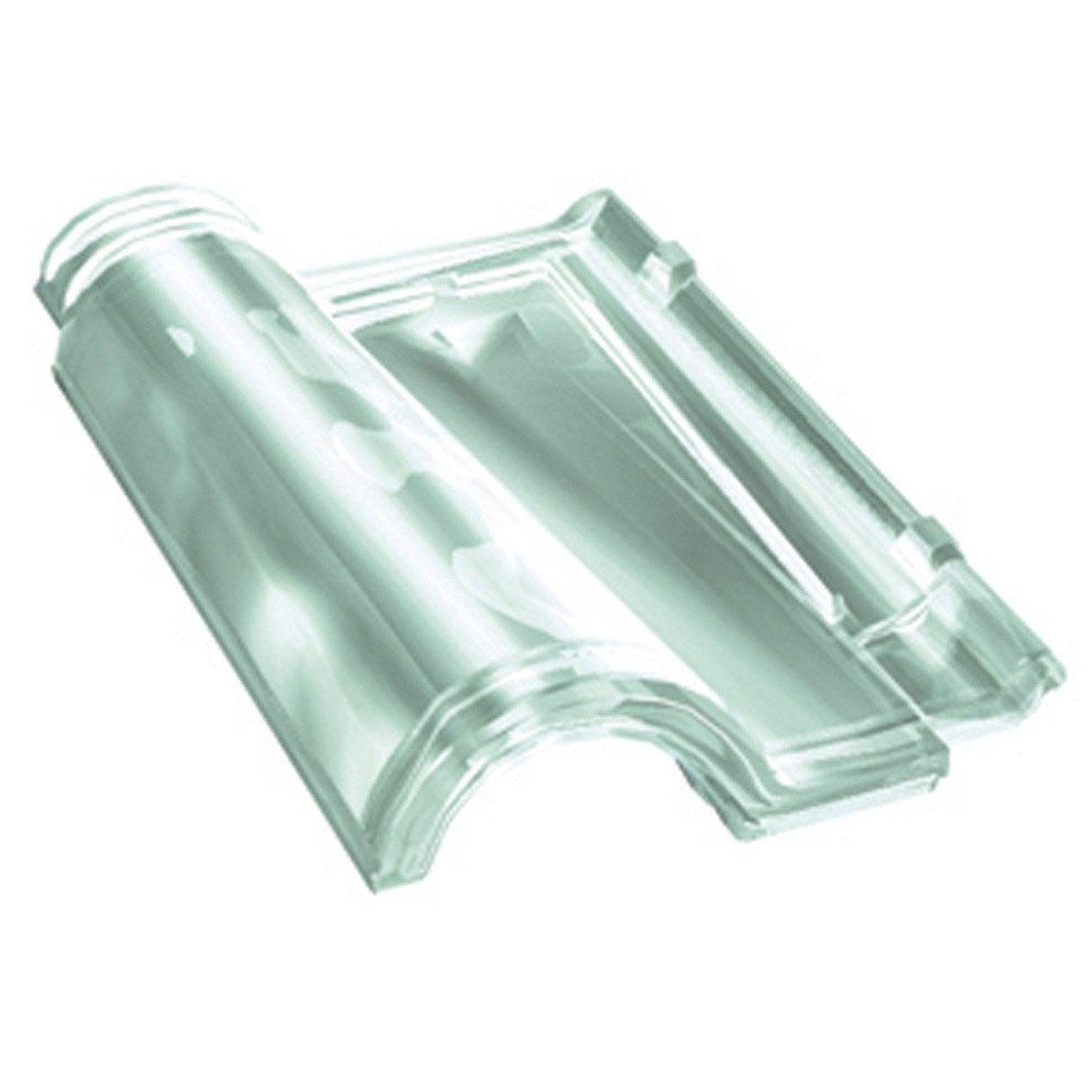 Tuile d 39 clairement saverbat couverture translucide romane - Tuile en verre leroy merlin ...
