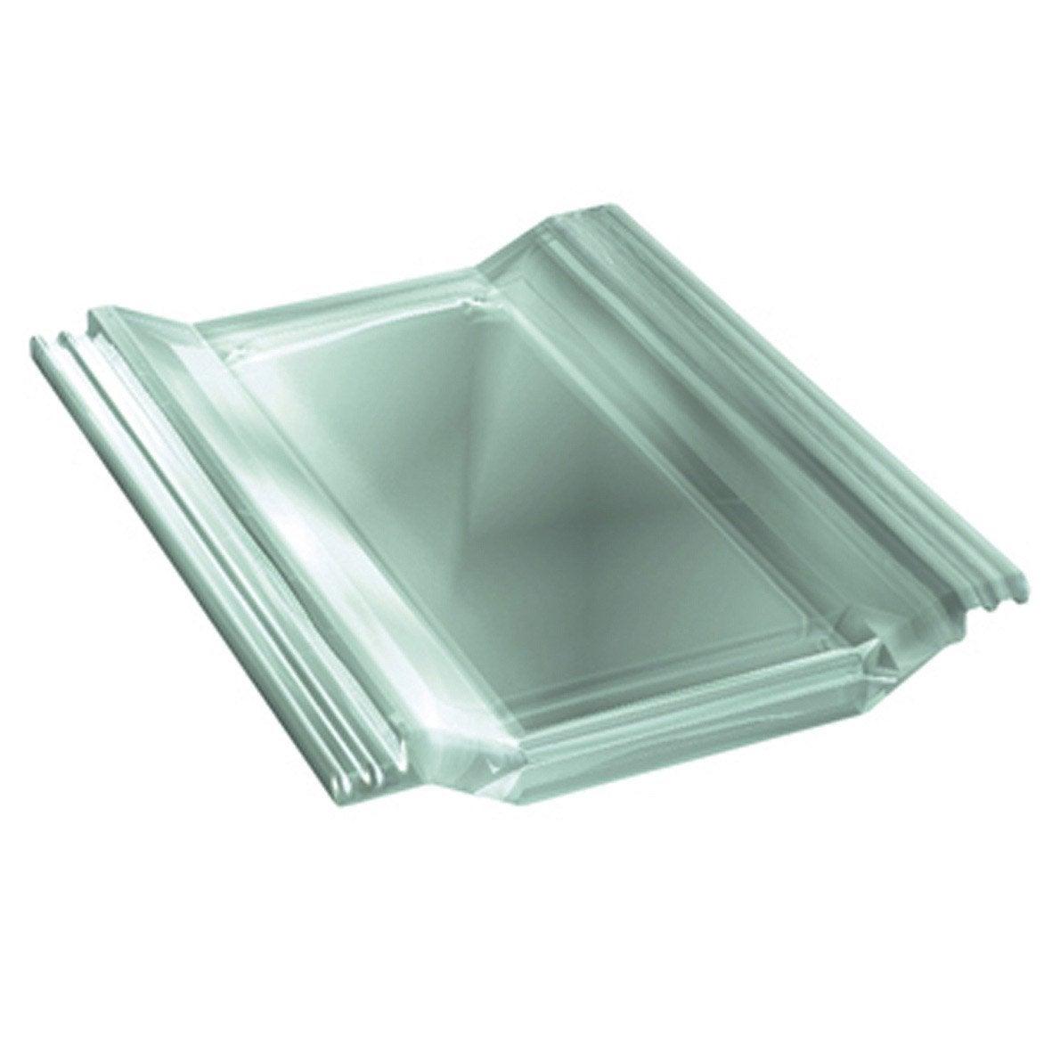 Tuile d 39 clairement monier translucide perspective leroy for Tole ondulee translucide leroy merlin