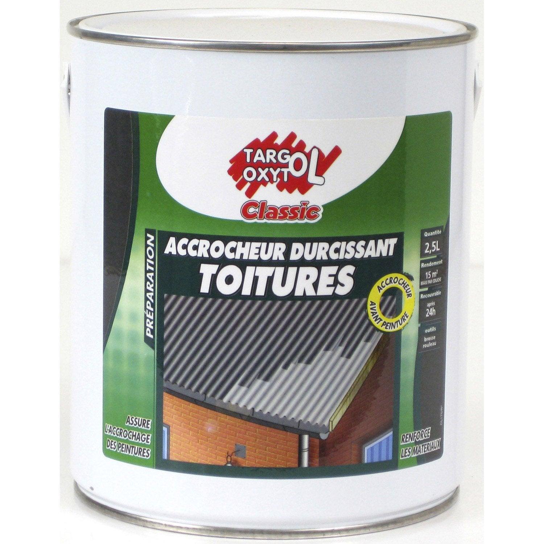 fixateur de peinture toiture ext rieur targol oxytol incolore 2 5 l leroy merlin. Black Bedroom Furniture Sets. Home Design Ideas