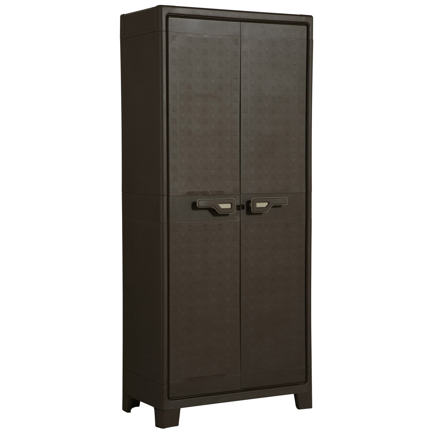 armoire de rangement en plastique leroy merlin maison. Black Bedroom Furniture Sets. Home Design Ideas