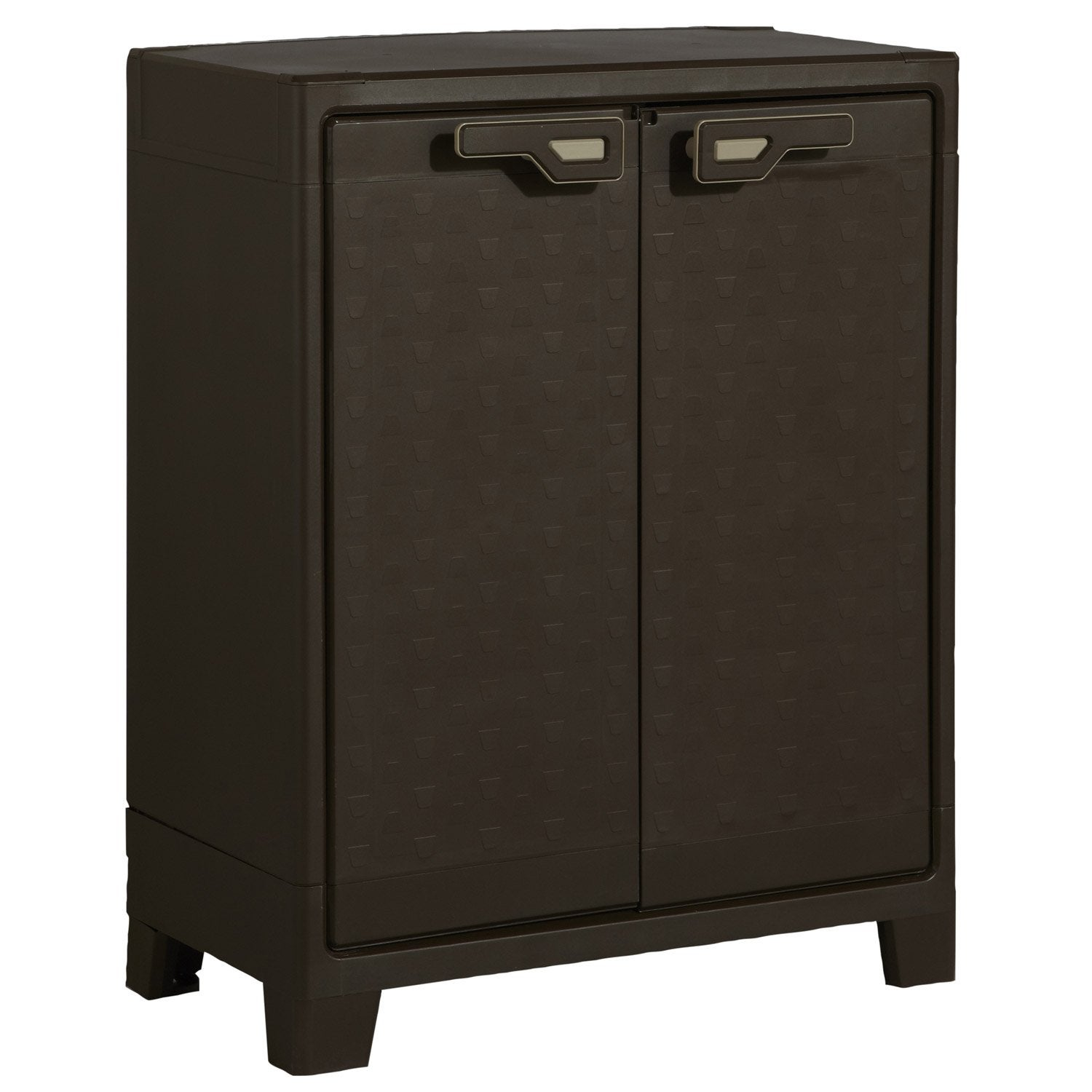 armoire de jardin en r sine titan leroy merlin. Black Bedroom Furniture Sets. Home Design Ideas