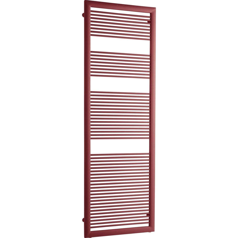 s che serviettes eau chaude acier irsap like rouge 730 w. Black Bedroom Furniture Sets. Home Design Ideas