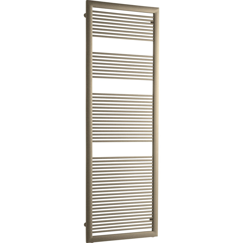 s che serviettes eau chaude acier irsap like marron 730 w. Black Bedroom Furniture Sets. Home Design Ideas