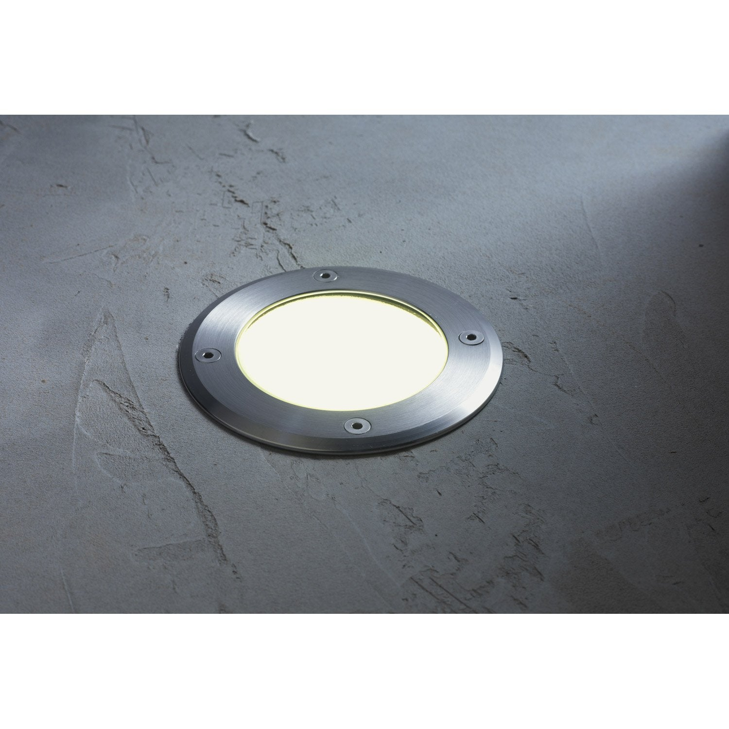 Spot encastrer ext rieur d troit acier inoxydable for Spot led encastrable exterieur terrasse