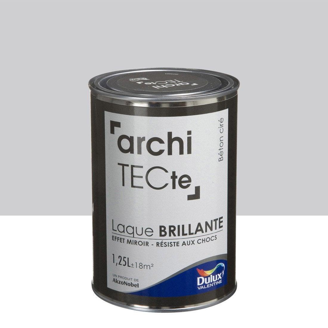 peinture boiserie architecte dulux valentine gris b ton cir l leroy merlin. Black Bedroom Furniture Sets. Home Design Ideas