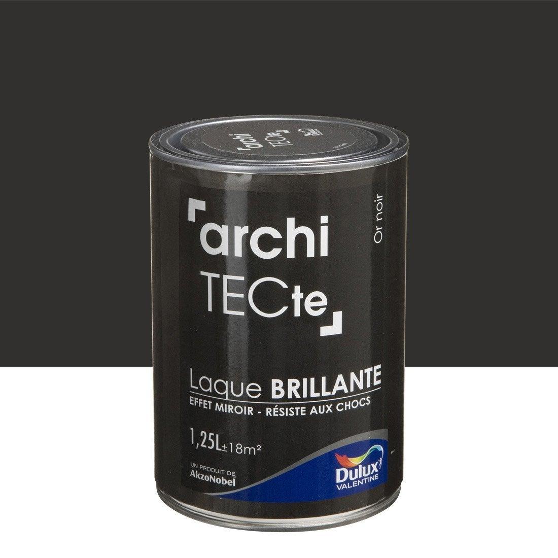 Peinture or noir dulux valentine architecte l leroy - Decapant peinture leroy merlin ...