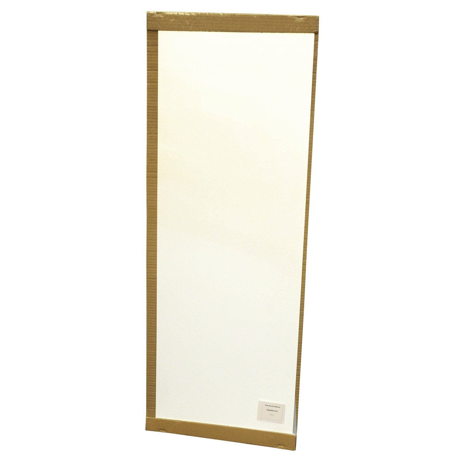 Plaque magn tique effa able blanc x cm leroy for Decoration a coller sur porte