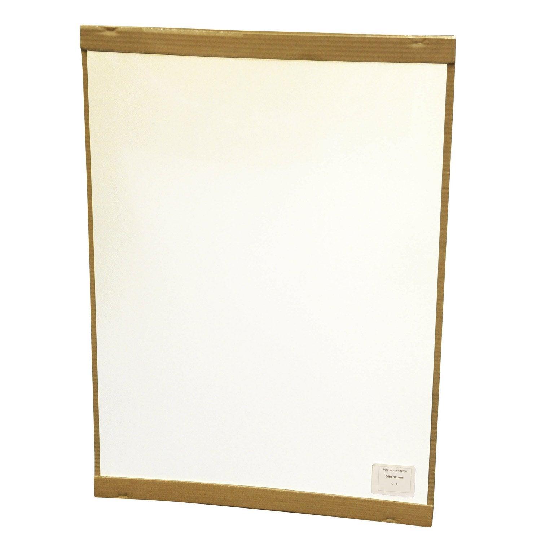 Plaque magn tique effa able blanc x cm leroy - Tableau blanc magnetique leroy merlin ...