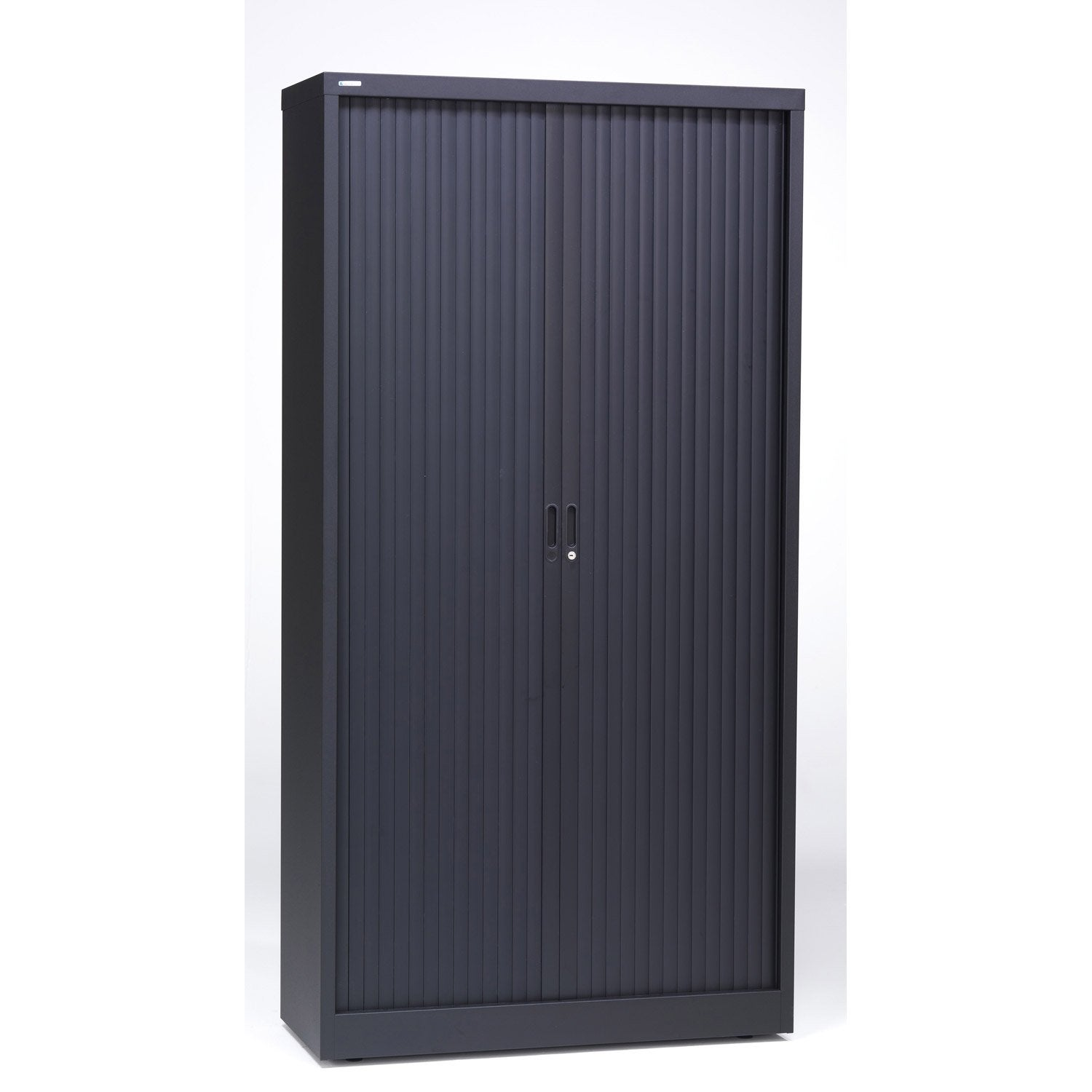 Armoire haute m tal 4 tablettes jds x x for Biohort leroy merlin