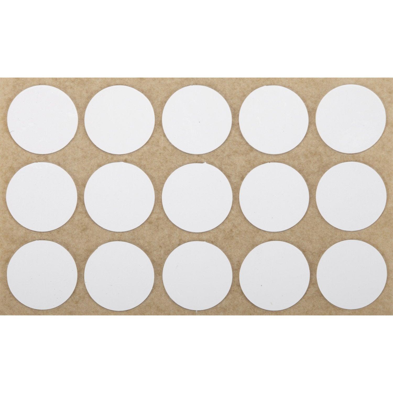 lot de 15 pastilles en plastique 3m leroy merlin. Black Bedroom Furniture Sets. Home Design Ideas