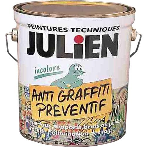 Peinture antigraffiti isol 39 tag julien incolore 0 5 l for Peinture anti moisissure leroy merlin