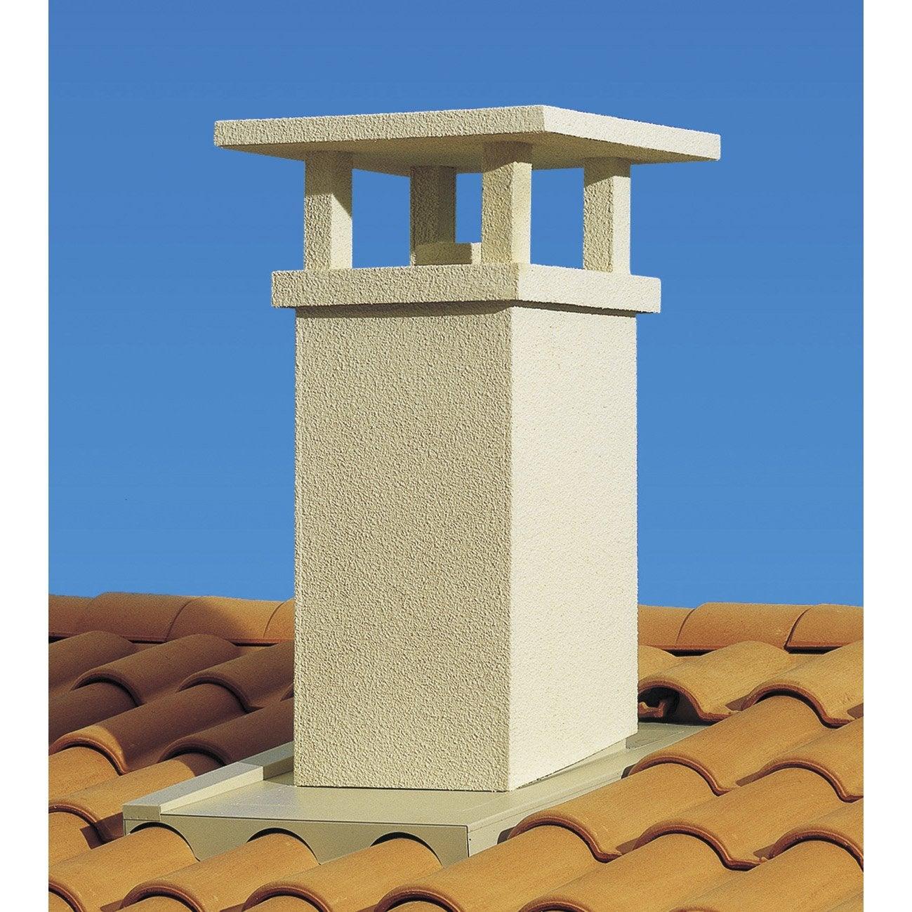 sortie de toit traditionnelle poujoulat 230 mm leroy merlin. Black Bedroom Furniture Sets. Home Design Ideas