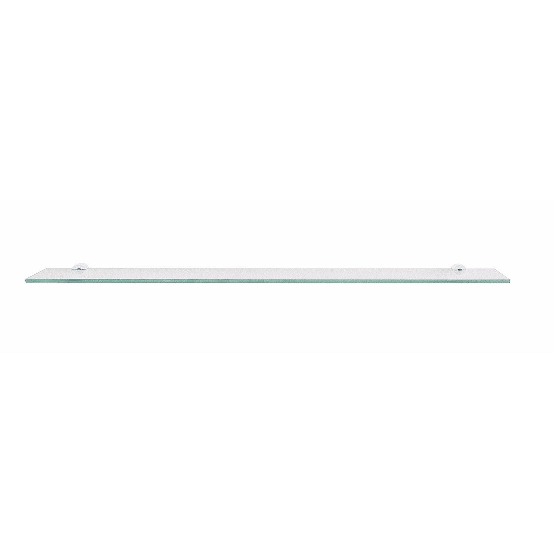 Tablette en verre de 60x12cm leroy merlin - Tablette verre leroy merlin ...