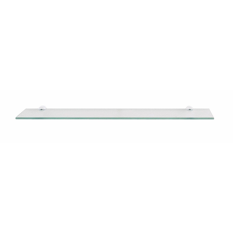 Tablette en verre de 50x12cm leroy merlin for Alquiler de abrillantadoras en leroy merlin