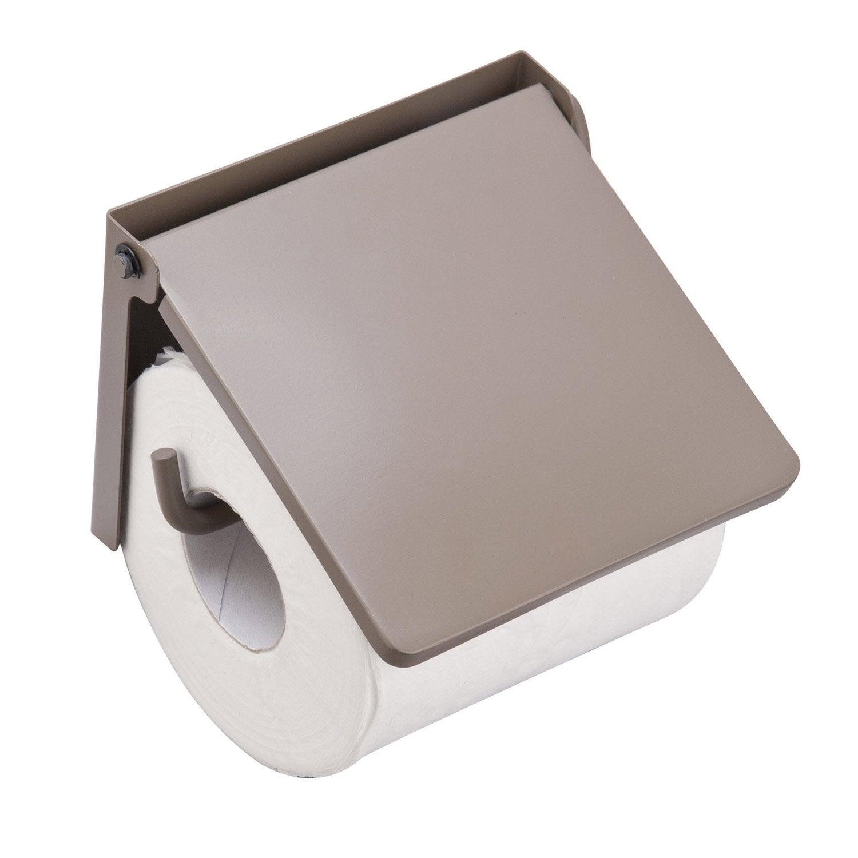 D rouleur papier wc lyrica taupe leroy merlin - Papier leroy merlin ...