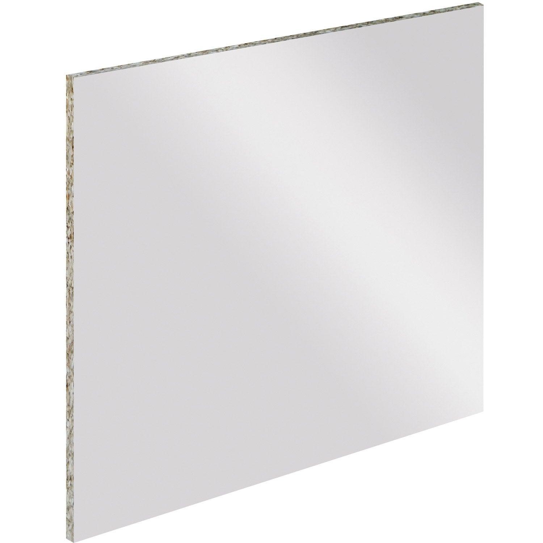 Cr dence stratifi blanc criture effa able et magn tique - Credence miroir leroy merlin ...