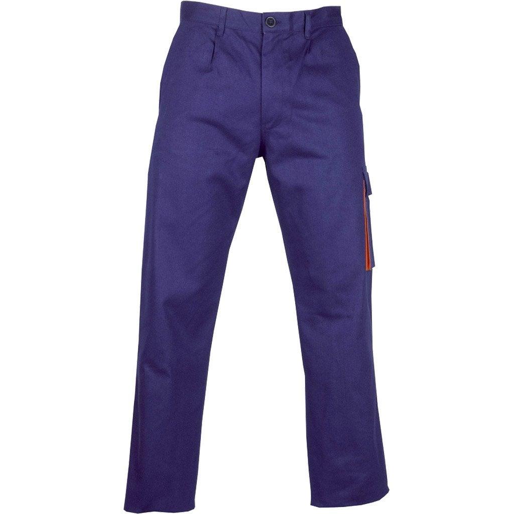 pantalon de travail basic bleu taille xxl leroy merlin. Black Bedroom Furniture Sets. Home Design Ideas