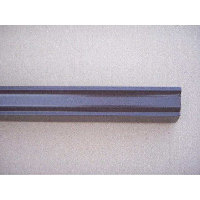goutti re aluminium scover plus d cm marron l 4 m leroy merlin. Black Bedroom Furniture Sets. Home Design Ideas