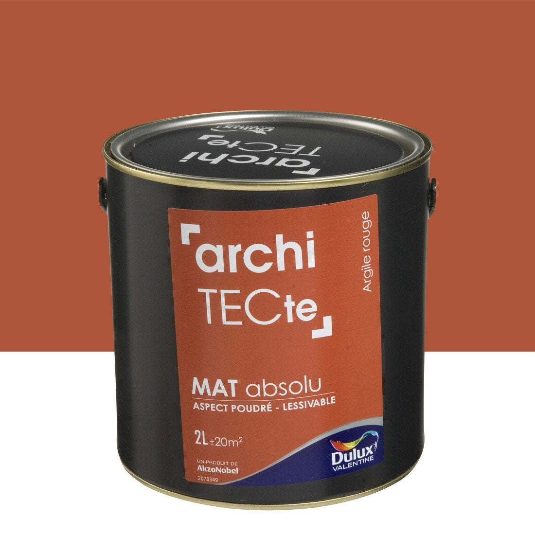 peinture argile rouge dulux valentine architecte 2 l leroy merlin. Black Bedroom Furniture Sets. Home Design Ideas