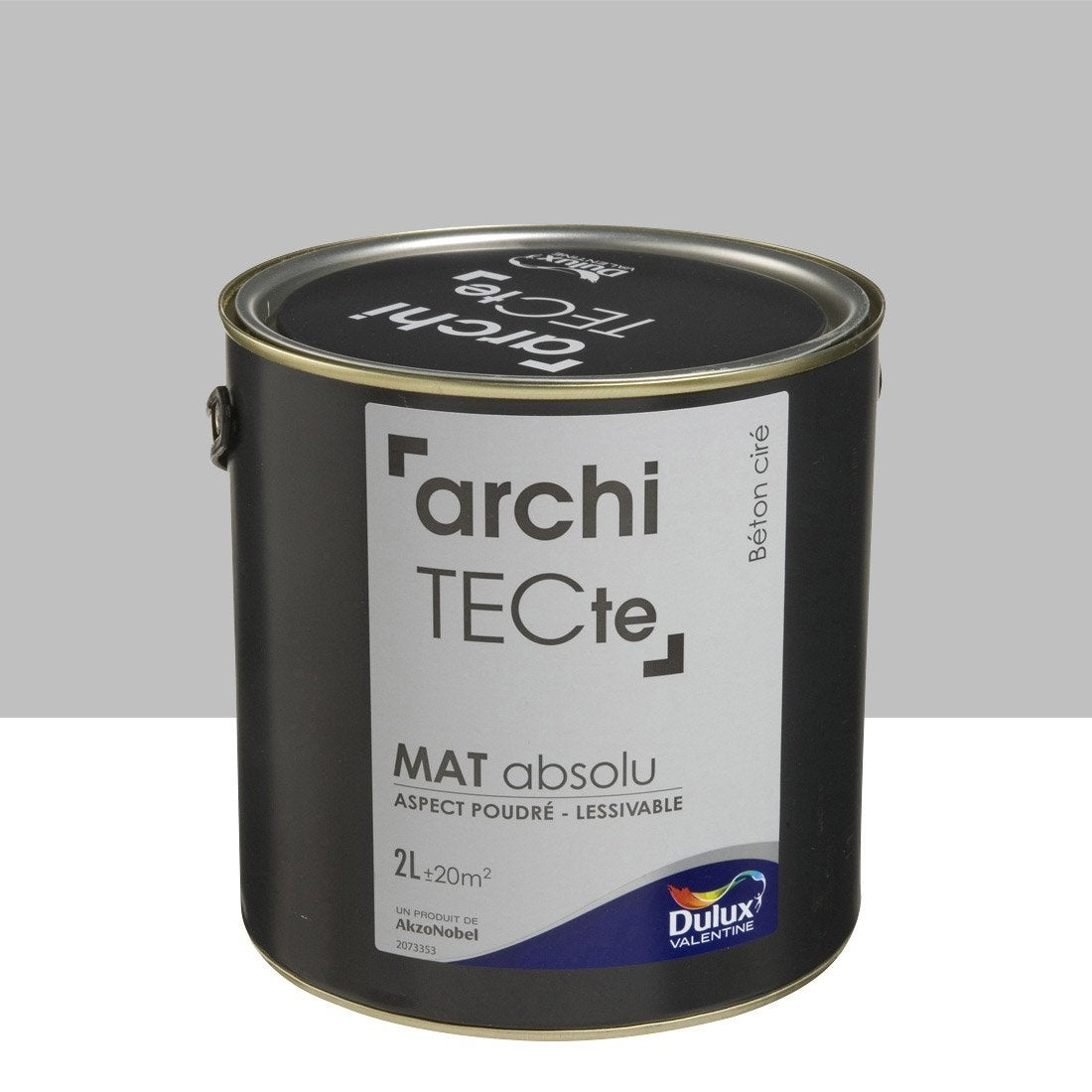 peinture gris b ton cir dulux valentine architecte 2 l leroy merlin. Black Bedroom Furniture Sets. Home Design Ideas
