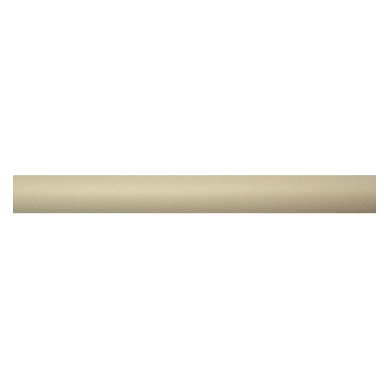 Tringle rideau cosy plume satin 250 cm inspire leroy - Leroy merlin tringle rideau ...