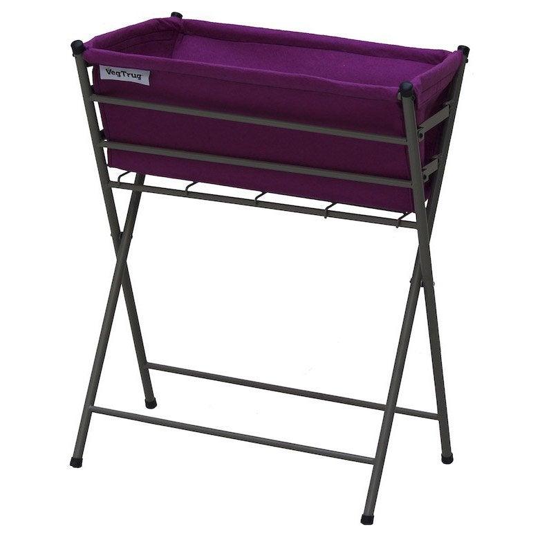 potager sur pieds acd poppy noir x x cm. Black Bedroom Furniture Sets. Home Design Ideas