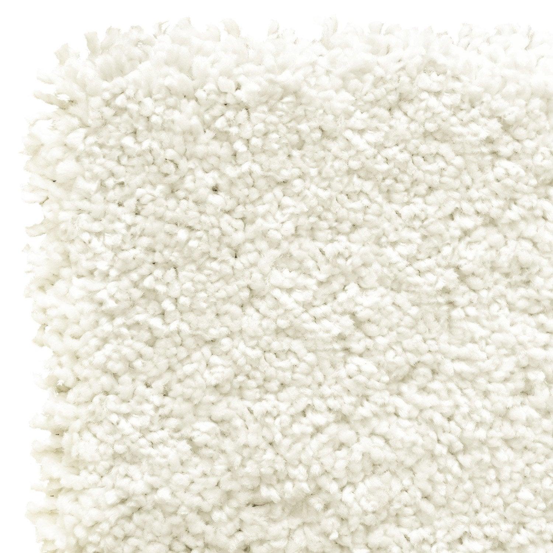 tapis blanc shaggy class x cm leroy merlin