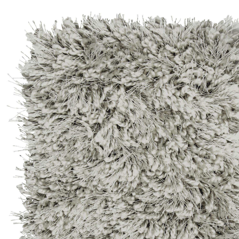 tapis shaggy bahia gris 170x120 cm leroy merlin. Black Bedroom Furniture Sets. Home Design Ideas