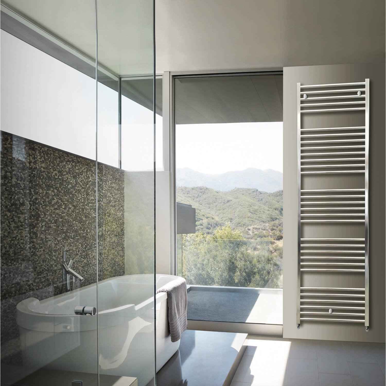 s che serviettes eau chaude aluminium hox krom 50 x180. Black Bedroom Furniture Sets. Home Design Ideas