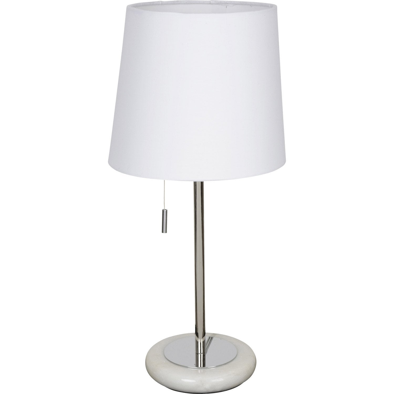 finest lampe e click corep coton blanc w leroy merlin for lampe de chevet chez leroy with lampe. Black Bedroom Furniture Sets. Home Design Ideas