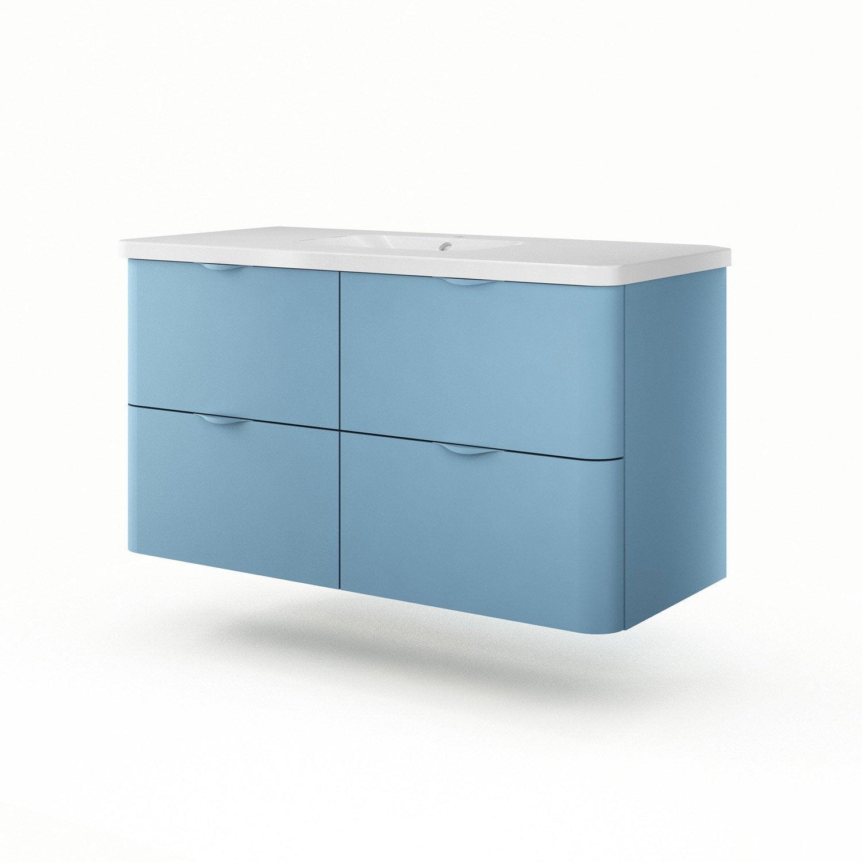 meuble vasque 120 cm neo shine leroy merlin. Black Bedroom Furniture Sets. Home Design Ideas
