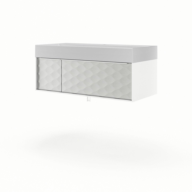 meuble vasque 105 cm neo frame leroy merlin. Black Bedroom Furniture Sets. Home Design Ideas