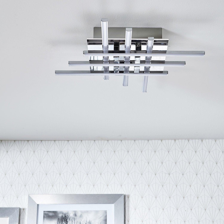 plafonnier design led integree otok metal chrome brosse 6 x 230 w inspire Résultat Supérieur 15 Nouveau Applique Plafond Leroy Merlin Photos 2018 Phe2