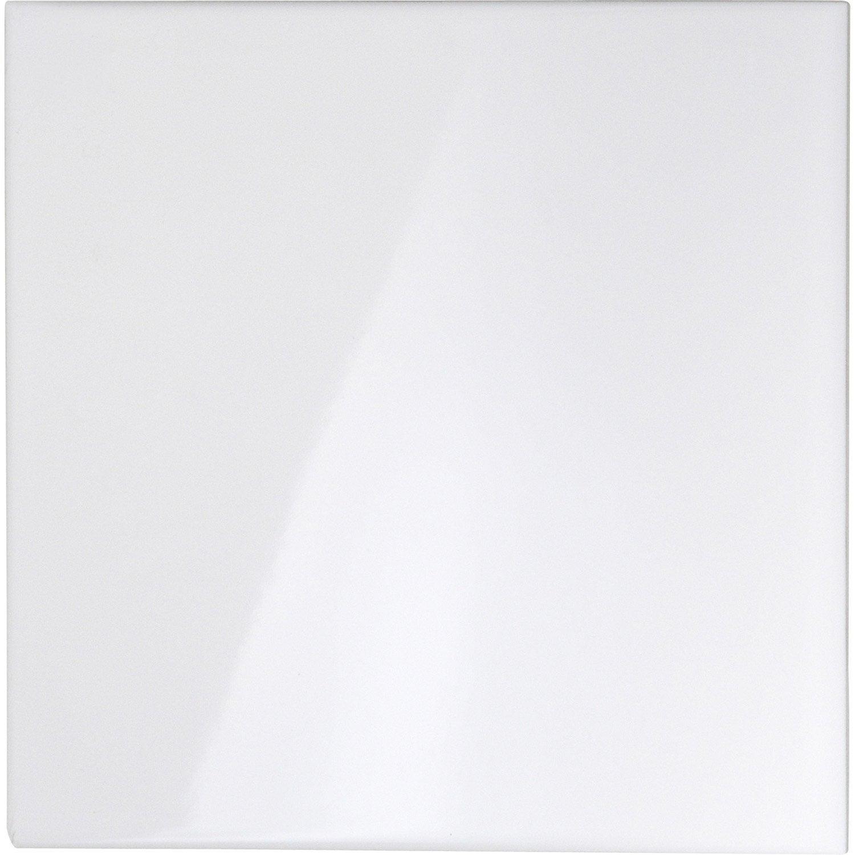 carrelage sol blanc brillant chaios