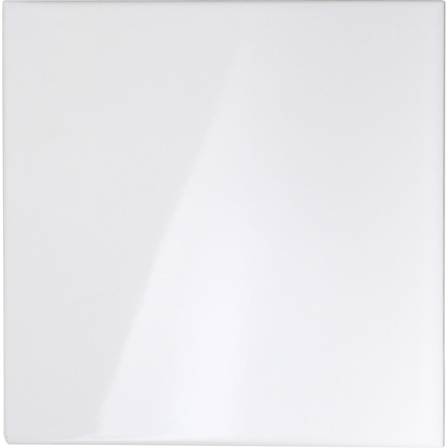 Carrelage blanc brillant 20x20 for Carrelage mural blanc