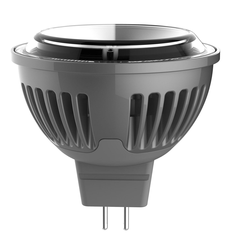 ampoule r flecteur led 5w 450lm quiv 35w gu5 3 2700k 100 lexman leroy merlin. Black Bedroom Furniture Sets. Home Design Ideas