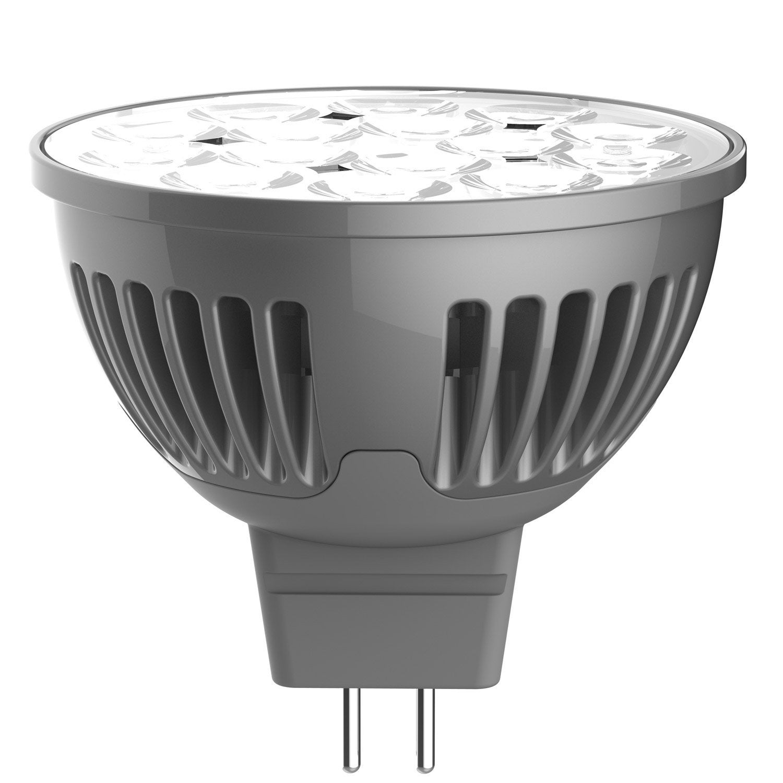 ampoule r flecteur led 5w 345lm quiv 35w gu5 3 4000k 36 lexman leroy merlin. Black Bedroom Furniture Sets. Home Design Ideas