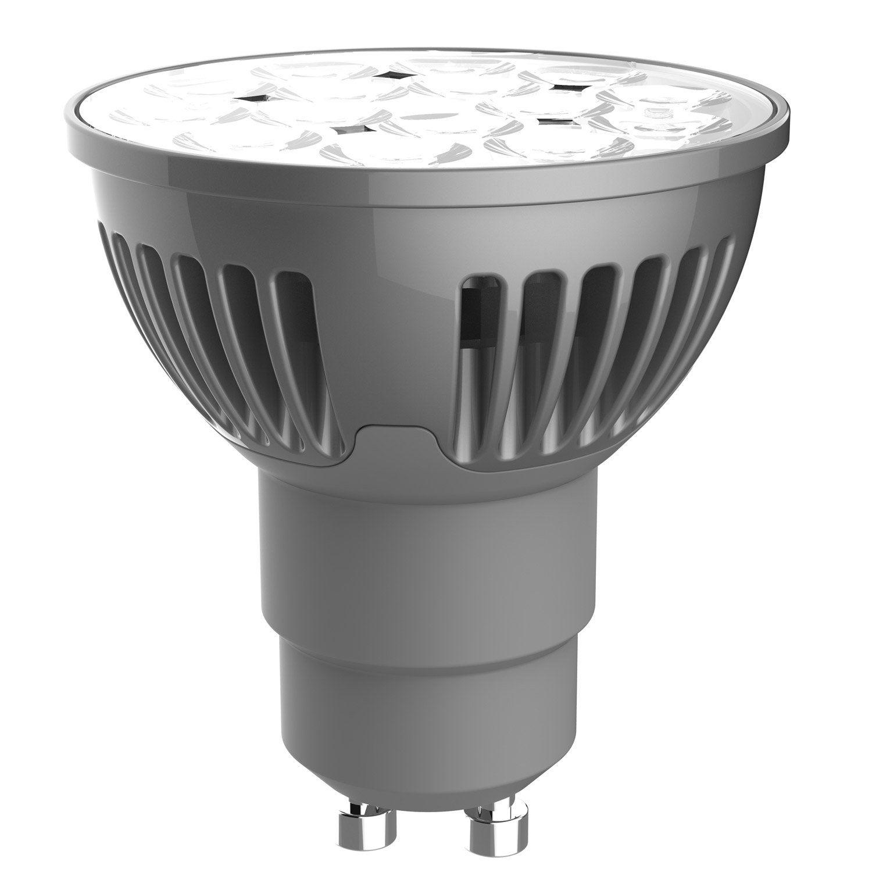 Ampoule R Flecteur Led 5w 345lm Quiv 50w Gu10 4000k 36 Lexman Leroy Merlin