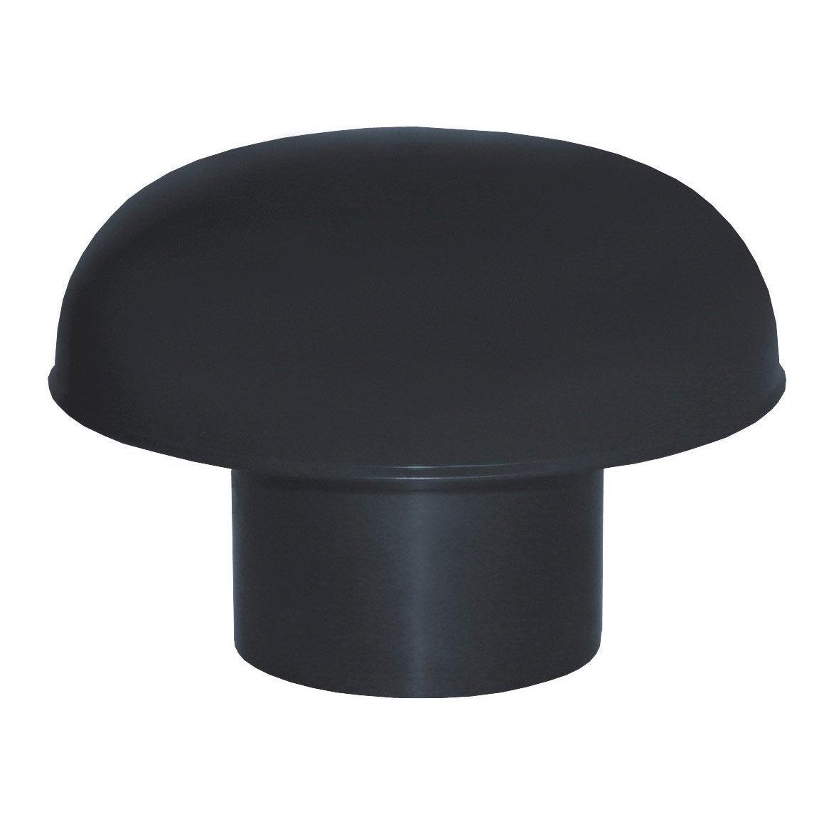 Chapeau de ventilation ardoise diam 100 mm leroy merlin for Chapeau pour cheminee exterieur