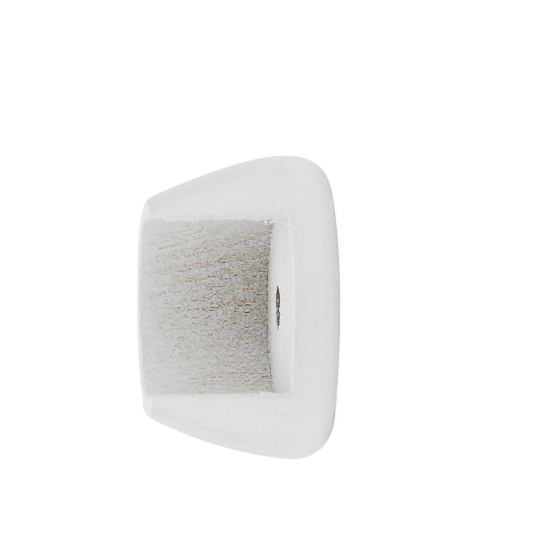 lot de 2 naissances tringle rideau 20 mm blanc inspire leroy merlin. Black Bedroom Furniture Sets. Home Design Ideas