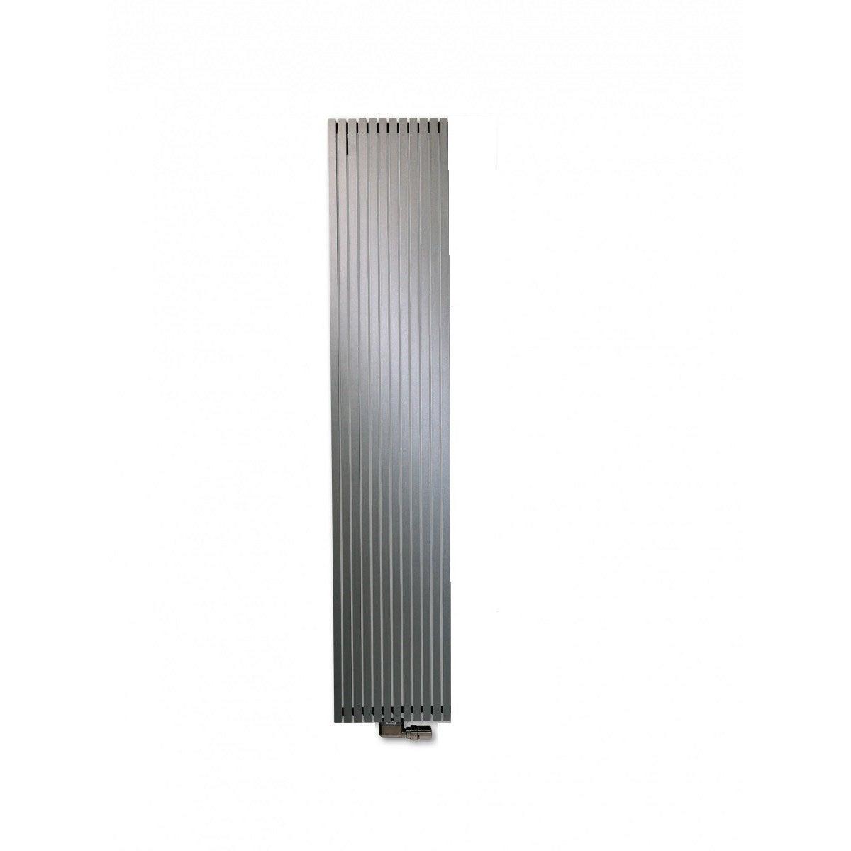 radiateur chauffage central carr gris anthracite sabl cm 1421 w leroy merlin. Black Bedroom Furniture Sets. Home Design Ideas