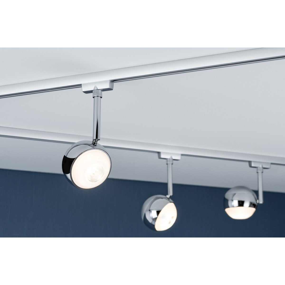 spots et suspensions pour rail paulmann capsule led 1 x 4 5 w leroy merlin. Black Bedroom Furniture Sets. Home Design Ideas