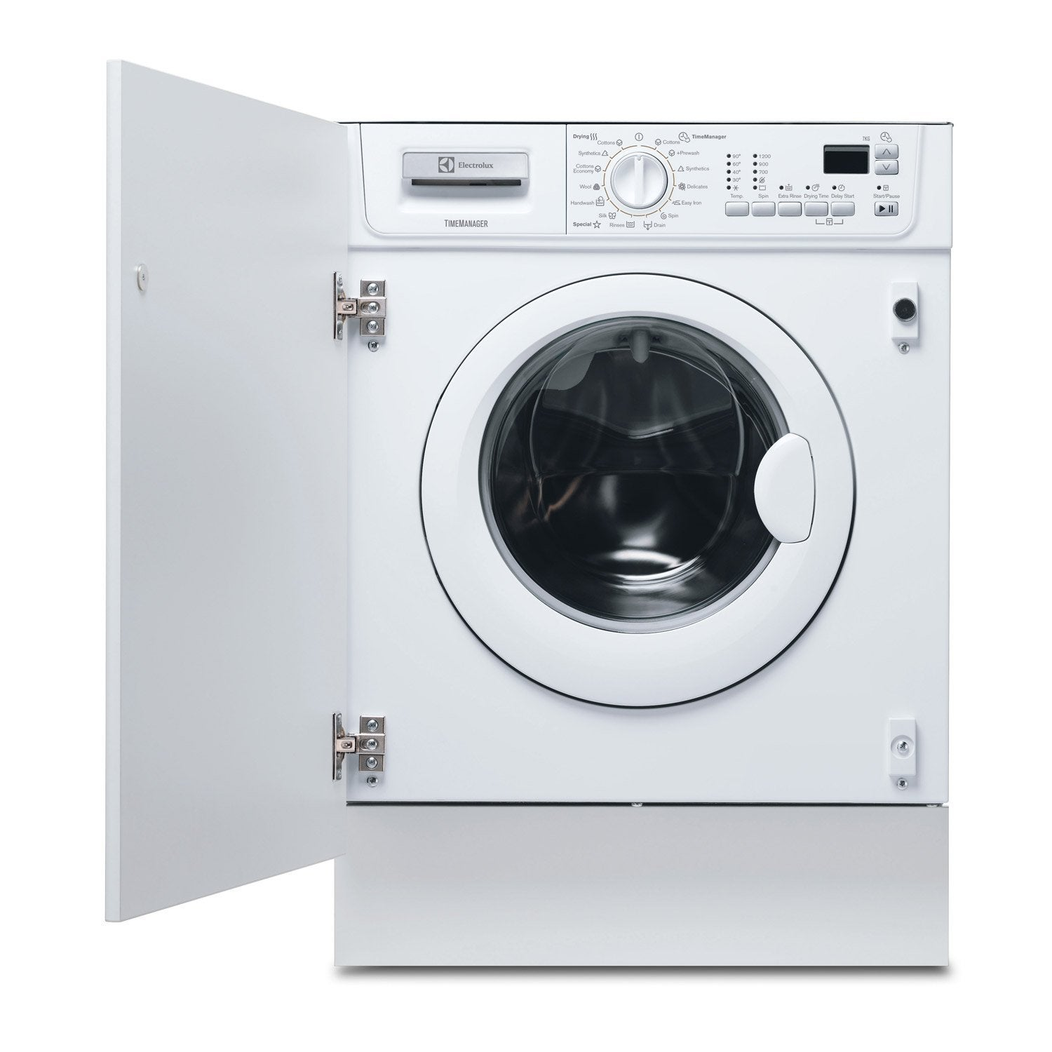 lave linge s chant encastrable electrolux 7 blanc leroy merlin. Black Bedroom Furniture Sets. Home Design Ideas
