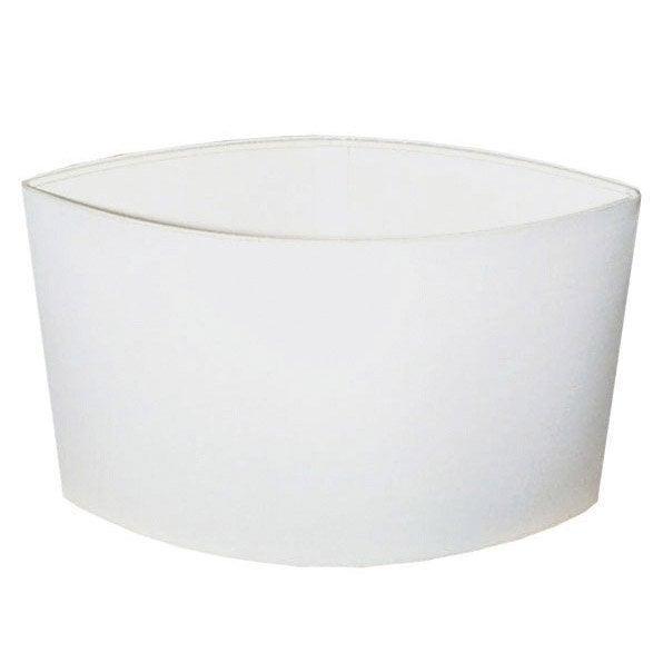 Abat jour loon 40 cm toiline blanc blanc n 0 inspire - Abat jour suspension leroy merlin ...
