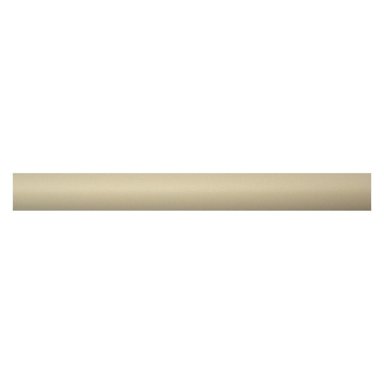Tringle rideau cosy plume satin 300 cm inspire leroy - Leroy merlin tringle rideau ...
