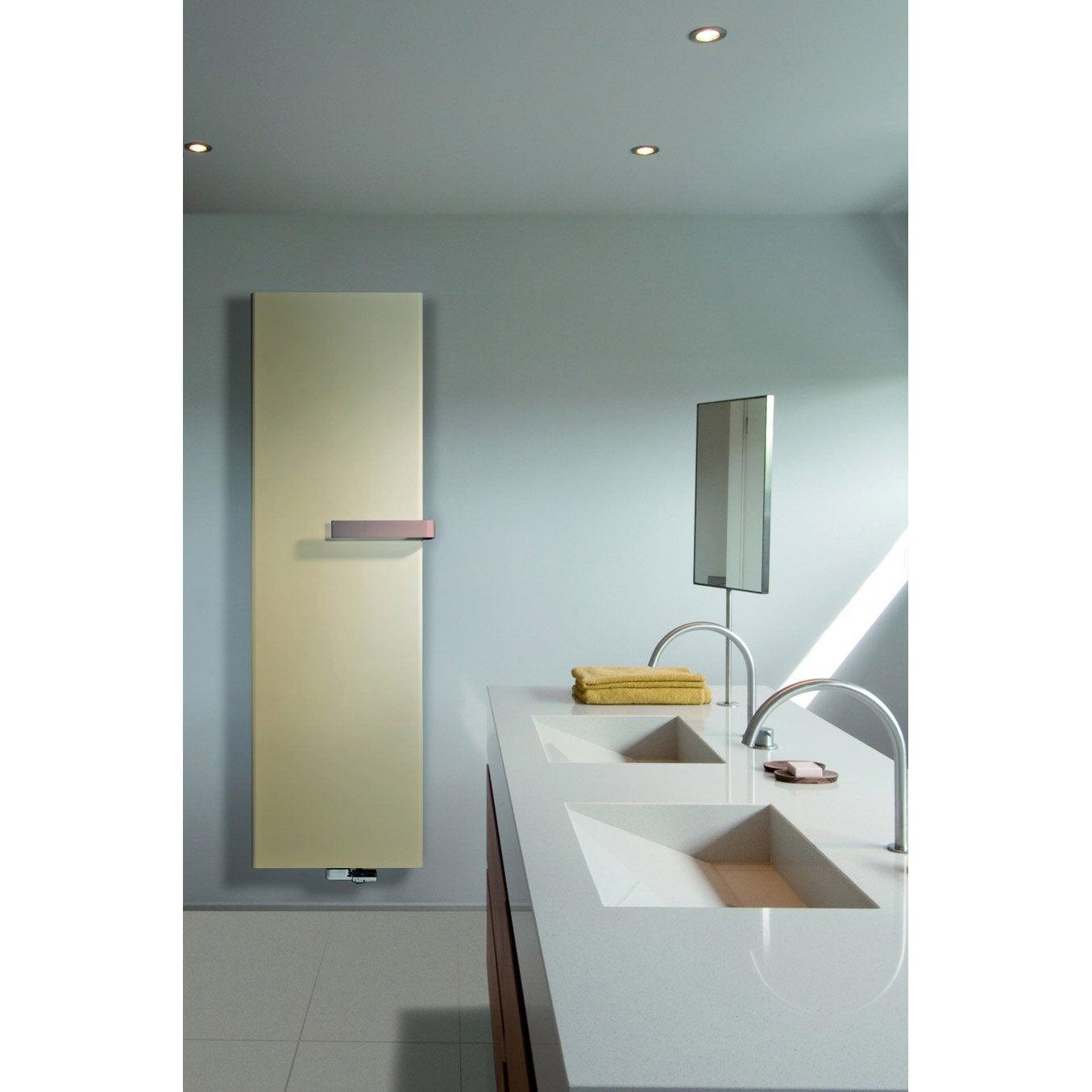 radiateur chauffage central nivasoft gris anthracite sabl cm 645 w leroy merlin. Black Bedroom Furniture Sets. Home Design Ideas