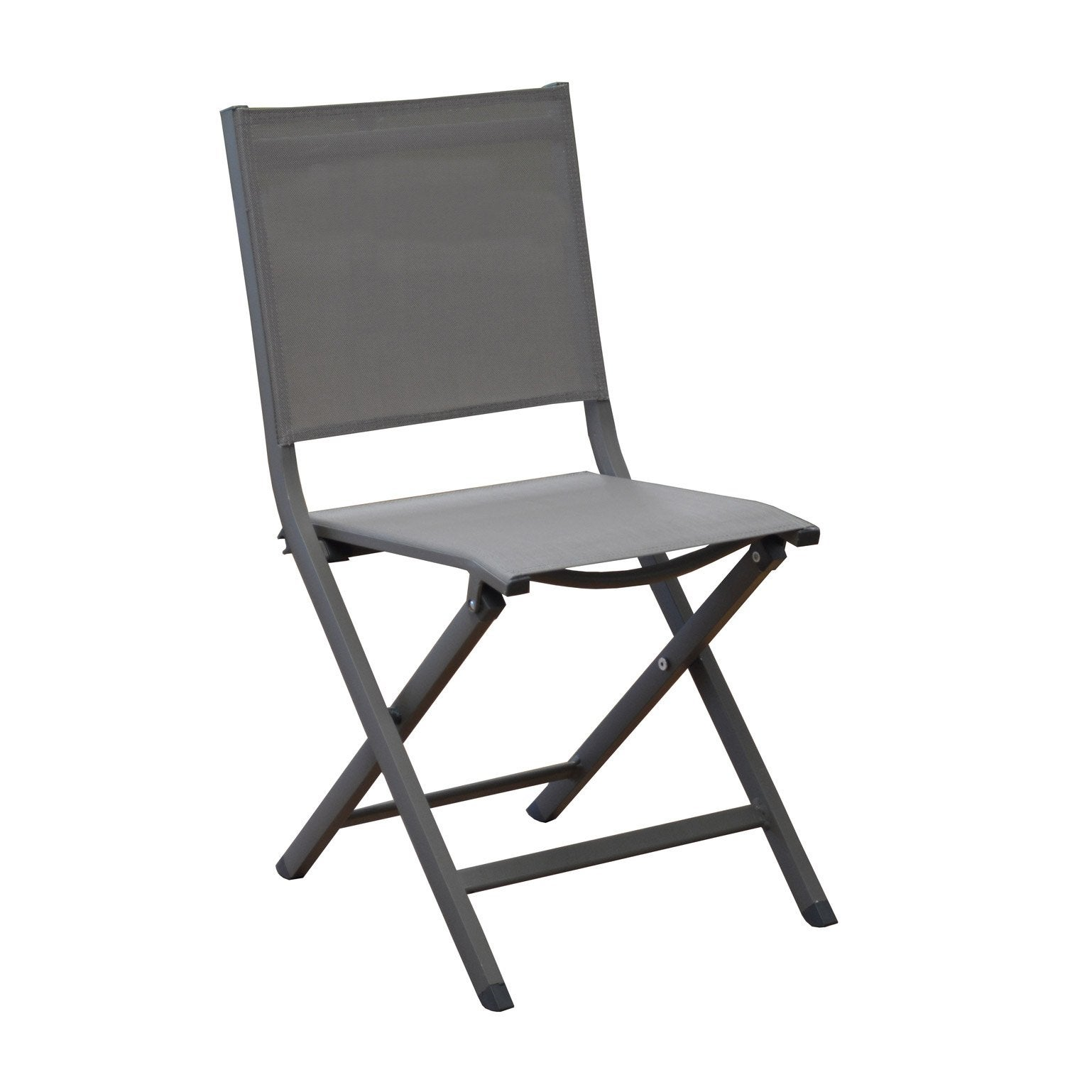 Chaise de jardin en aluminium th ma caf caf leroy merlin for Chaise jardin leroy merlin